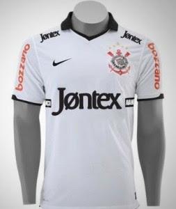 Nova Camisa do Corinthians Temporada 2012
