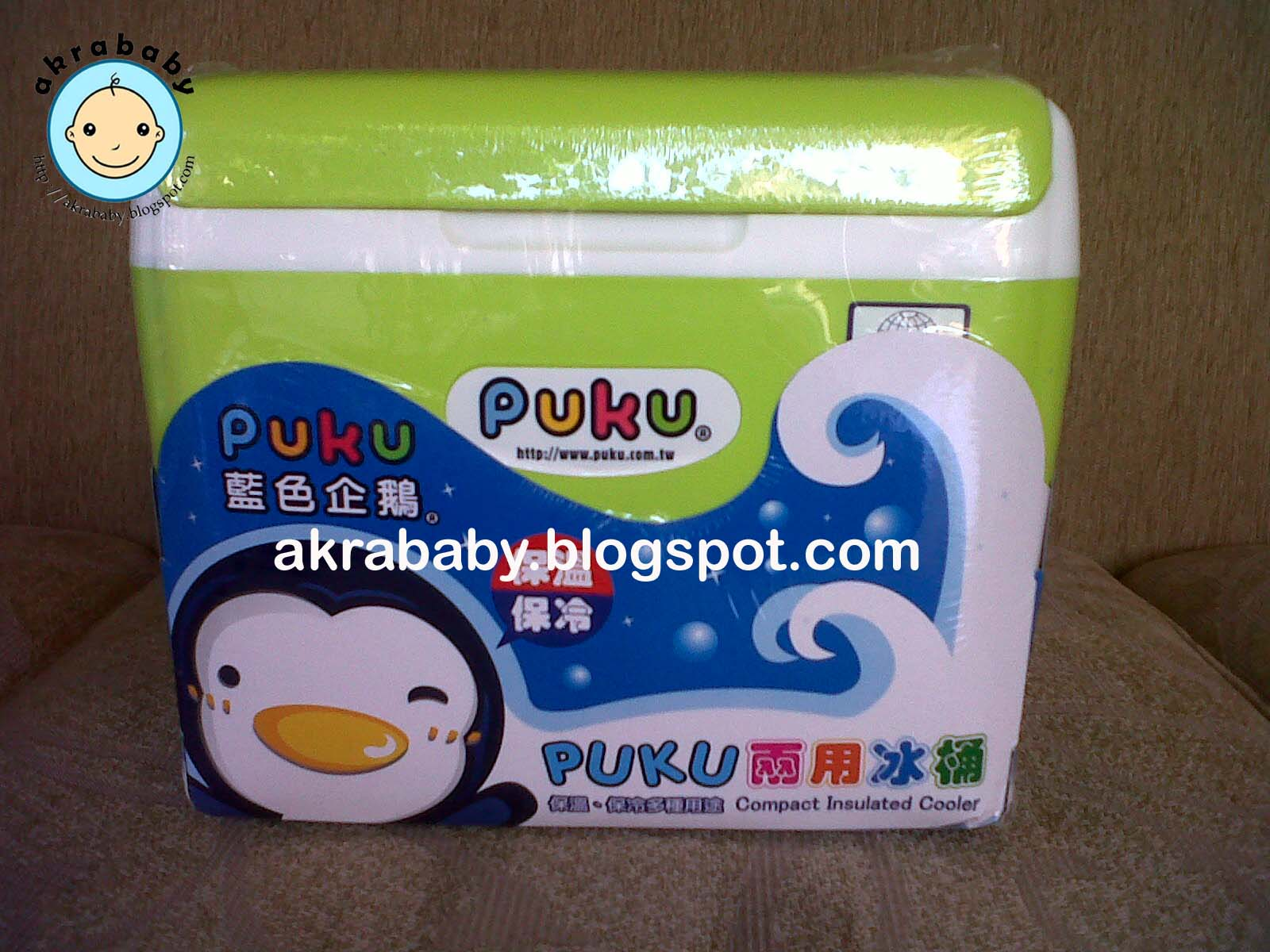 Akrababy Cooler Box Puku Babypax Bag Blue