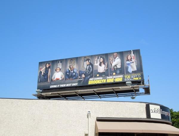 Brooklyn Nine-Nine season 1 billboard