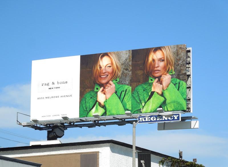 Kate Moss Rag Bone SS13 billboard