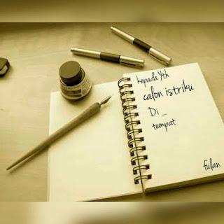 Surat Untuk Calon Istriku