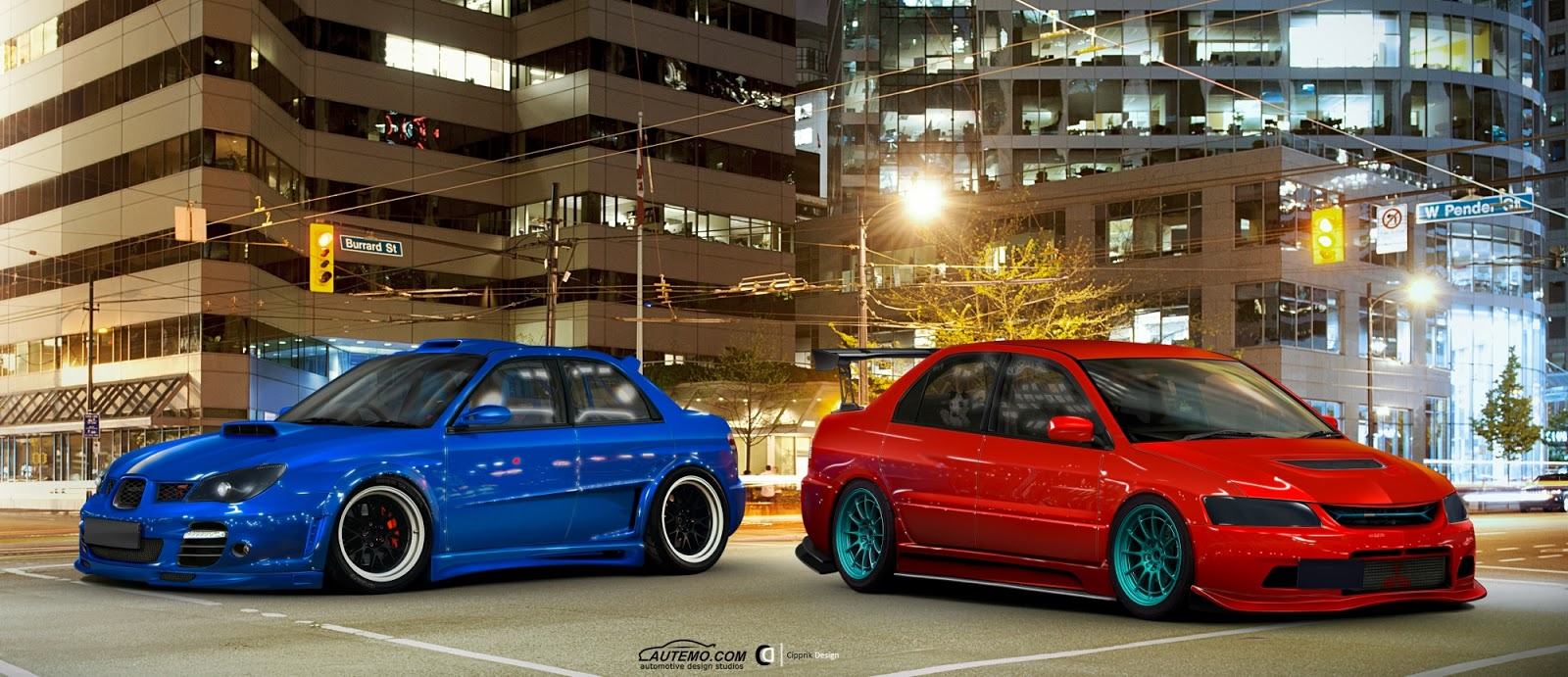 Two of the fiercest rivals in automotive history are without a doubt the subaru impreza in its wrx sti version and