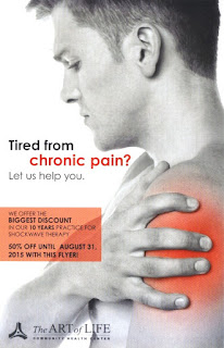 Tired from Chronic Pain? Shockwave Therapy Discount Offer TAOL Health