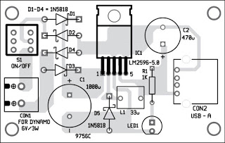 Simple bicycle usb charger circuit diagram component2blayout2bof2bthe2bpcb asfbconference2016 Images