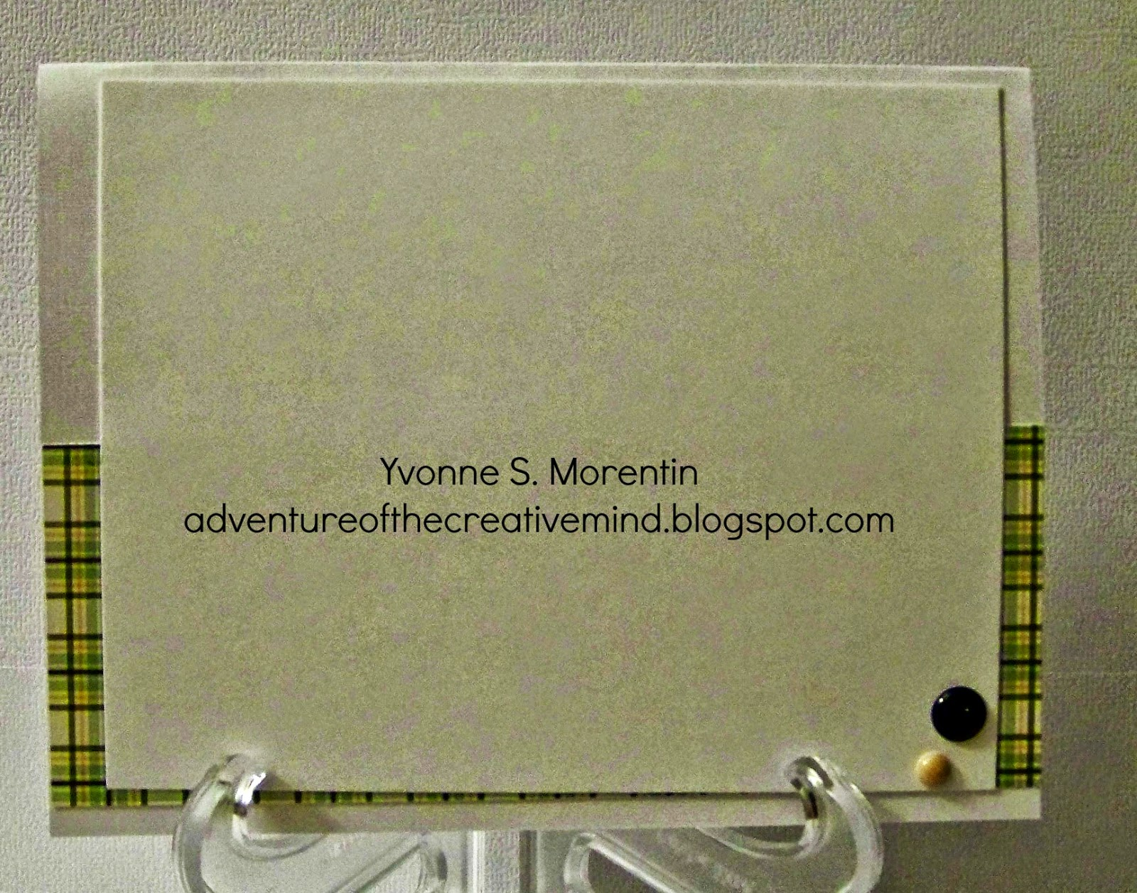 Yvonne S. Morentin- http://adventureofthecreativemind.blogspot.com/