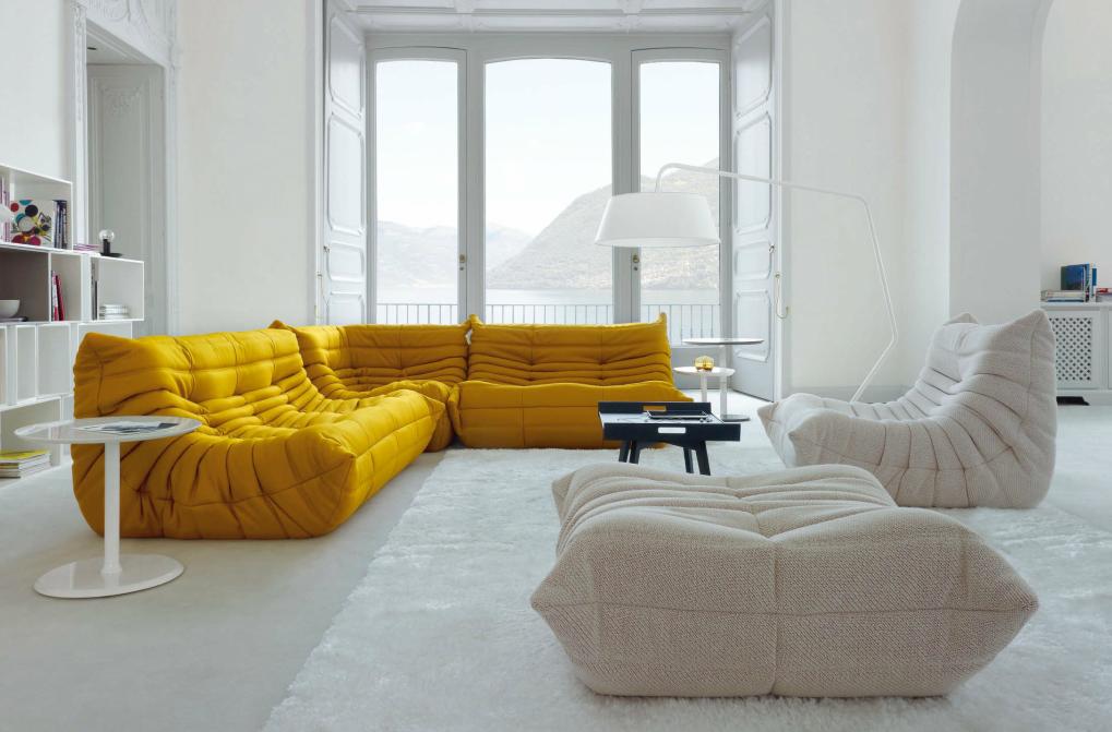 togo koltuk rahat ve ergonomik bir koltuk tasar m. Black Bedroom Furniture Sets. Home Design Ideas