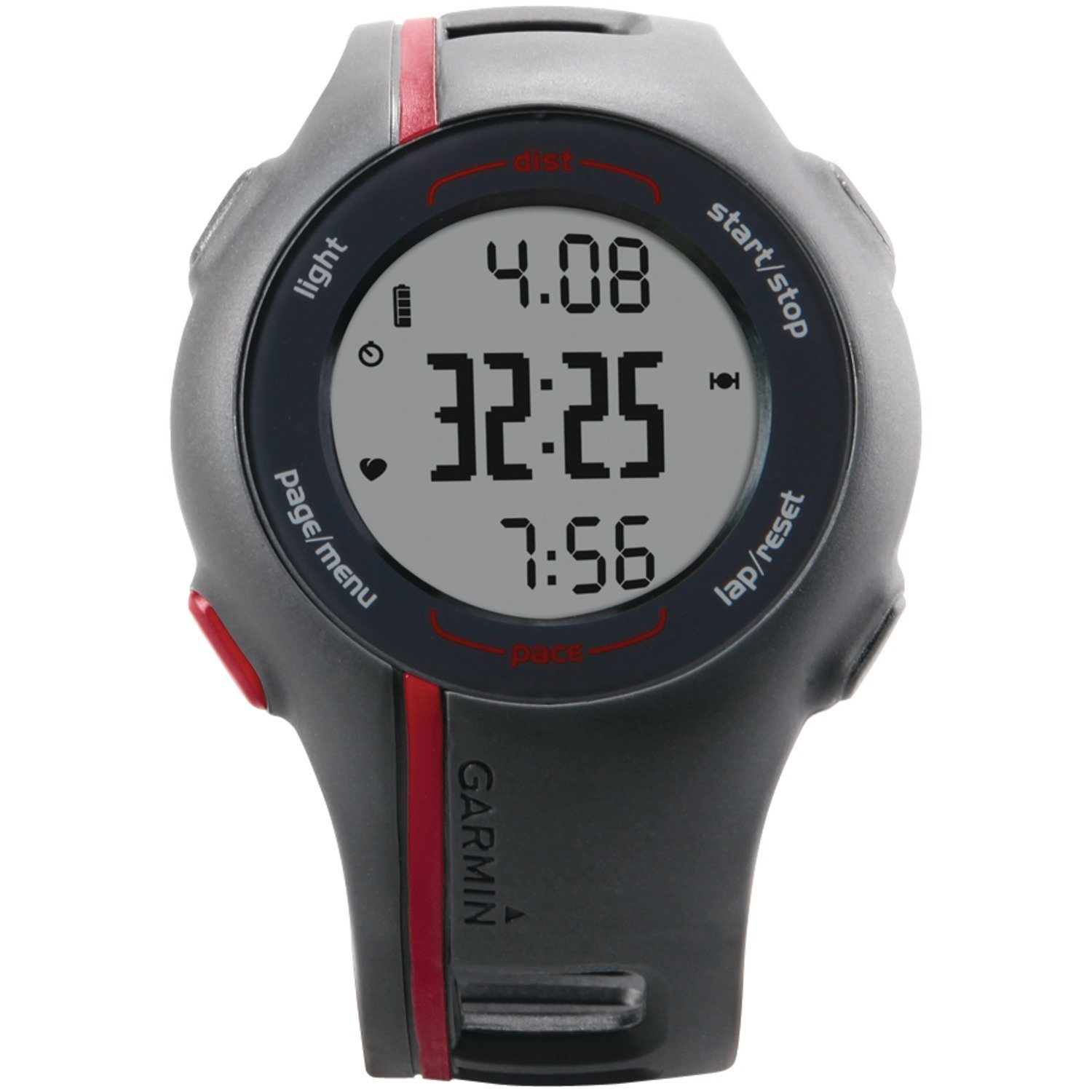 Garmin forerunner 110 watch with gps and heart rate monitor review sporting goods for Garmin watches