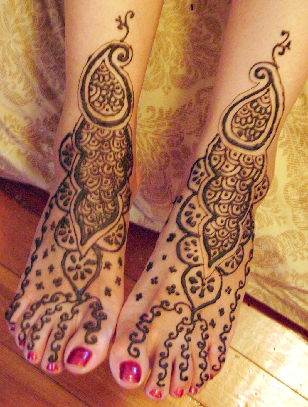 Mehndi Feet Pictures : Mehndi designs indian