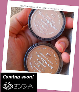 NOVITA' ZOEVA - Mineral Bronzer & Mineral Highlighter - swatch news 2013