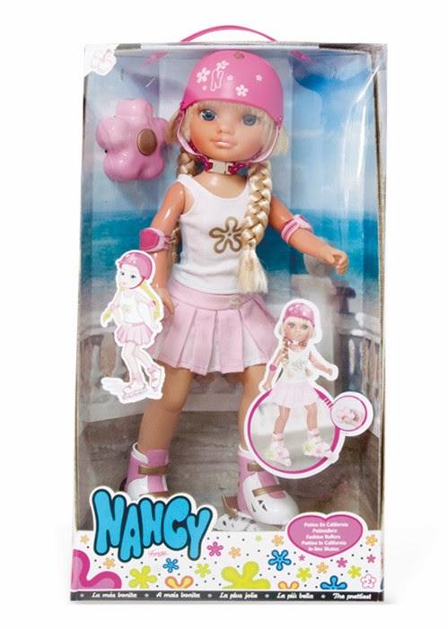 JUGUETES - NANCY - Muñeca Nancy Patina en California  Producto Oficial | Famosa 700010095 | A partir de 3 años