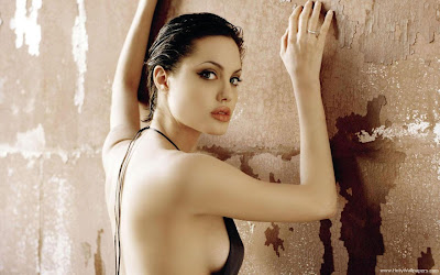Angelina Jolie glamour wallpaper