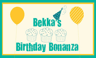 Win a Stampin' Up! Shopping Spree with Bekka's Birthday Bonanza