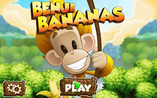 Screenshots of the Benji Bananas for Android tablet, phone.