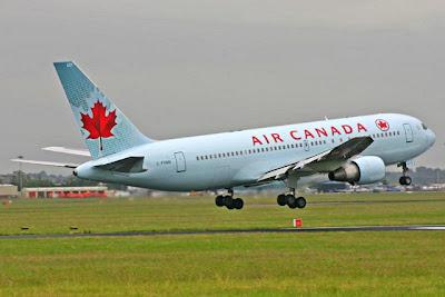 Air Canada faz seu vôo com biocombustível usando 50% óleo de cozinha