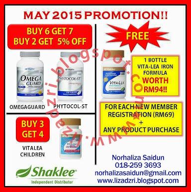 Promosi Bulan May 2015