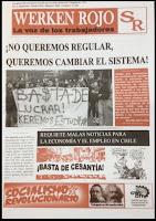 Periódico Werken Rojo N°4. La voz de los Trabajadores