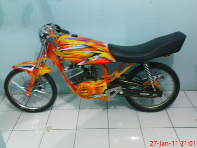Motor RX King Modif Airbrush