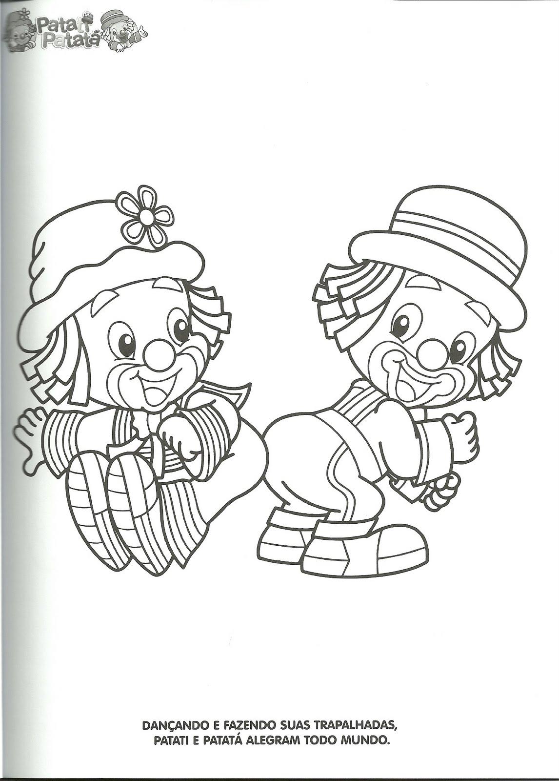 Desenhos Do Papati Patat   Para Colorir