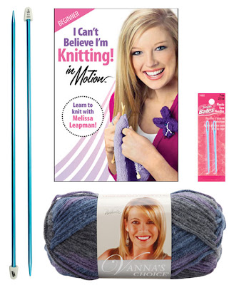 DVD Knitting Kit