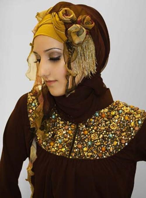 Paki Fashion 2012 Fancy Abayas