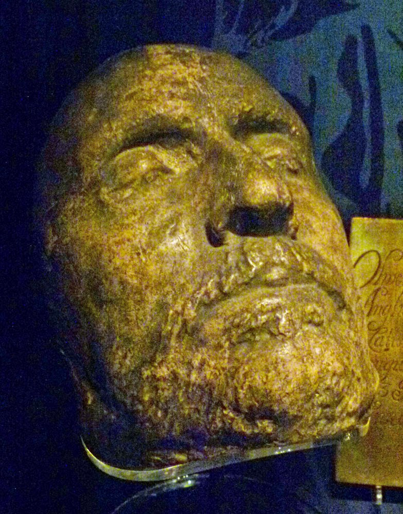 Oliver Cromwell Ireland Death Mask Oliver Cromwell
