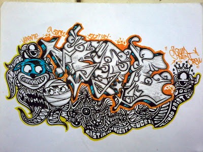 : Grafiti gambar kertas,sketsa grafiti gambar kertas,gambar grafiti