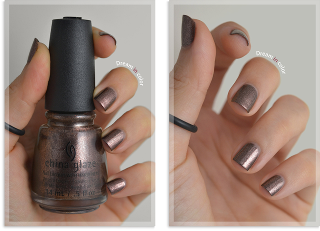 china glaze Wood you wanna?