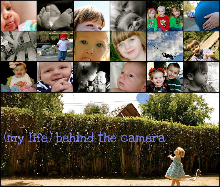 (my life) Behind the Camera
