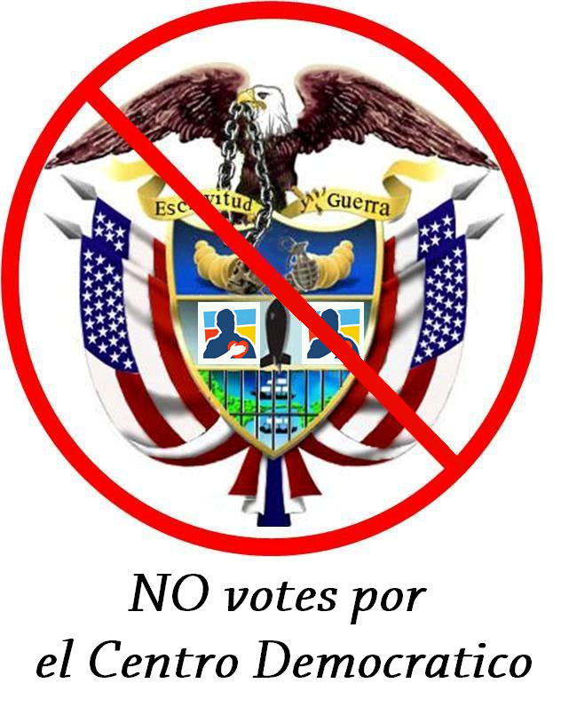 NO Votes Por el Centro Democratico