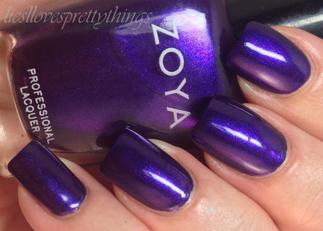 Zoya Belinda swatch and review