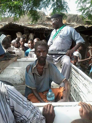 See The Picture Of A Boko Haram Terrorist Arrested Today In Yobe