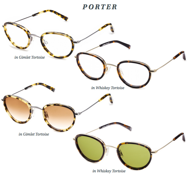 Warby Parker - 1922 Collection Porter Frames