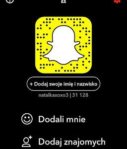 Zapraszam na Snapchata!
