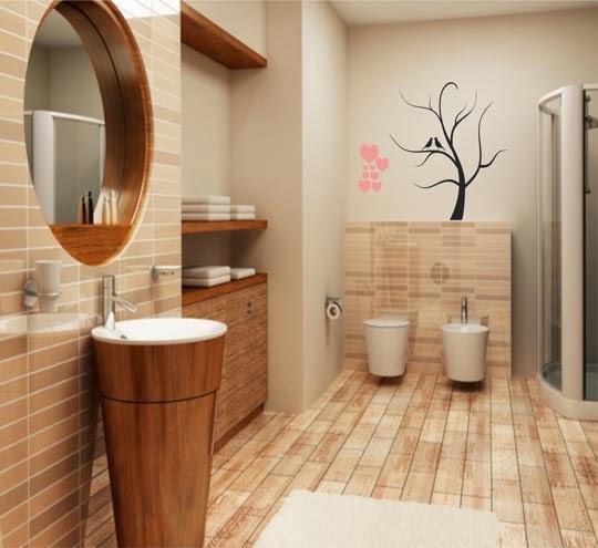 Decora o criativa de banheiros pequenos busca decor - Amueblar piso pequeno barato ...