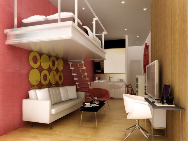 Interior Design Ideas Small Space Condo Philippines 600 x 450