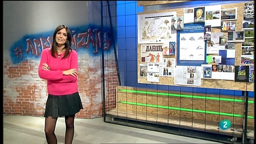 MARIA JOSE GARCIA, LA AVENTURA DEL SABER (08.01.14)