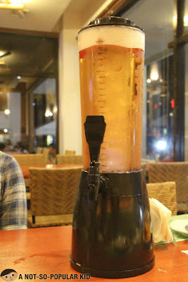 Beer Tower in Dencio's Restaurant