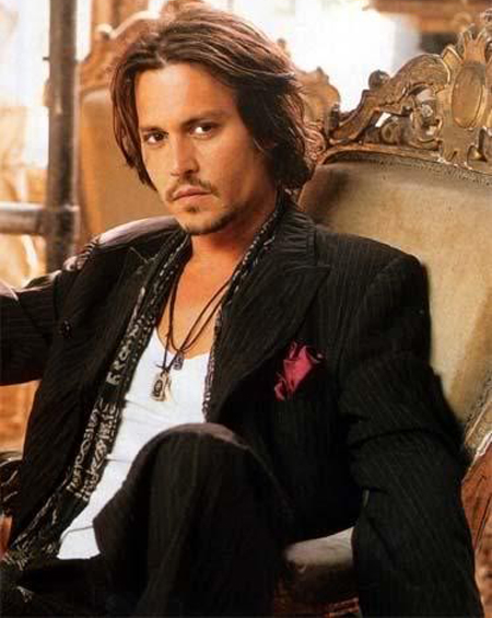 Johnny Depp Hairstyle 13