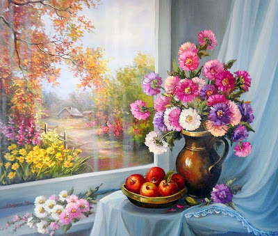 paisajes-flores-oleo