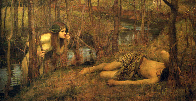 naiad,painting,waterhouse