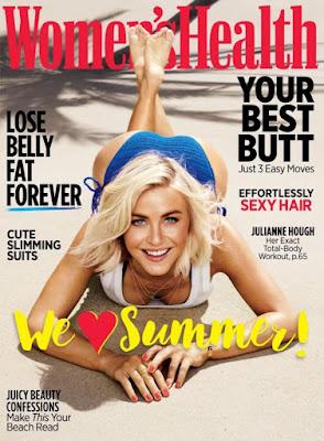 Julianne Hough Women's Health Magazine July August 2015 photoshoot