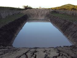 Barreiro Trincheira com água