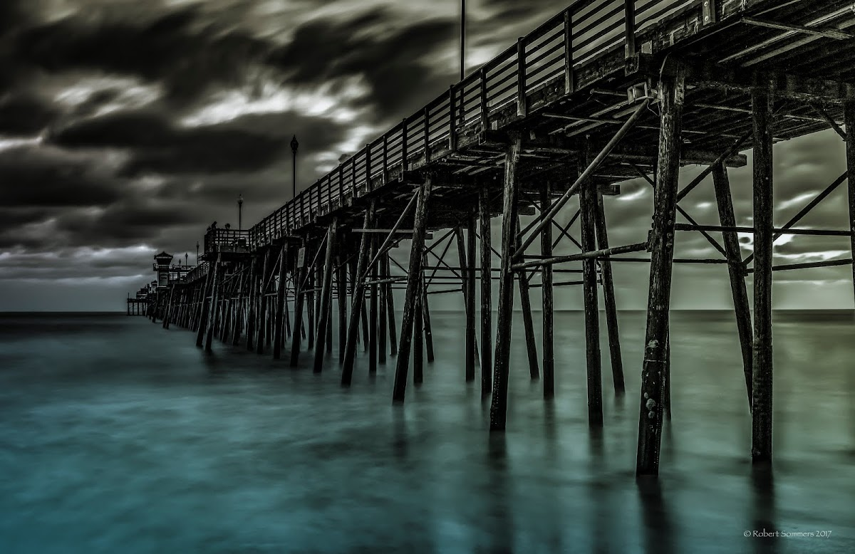 Oceanside Pier, thirty seconds