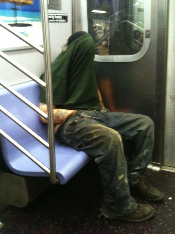 Top 25 Reasons Why I Don't Ride The Subway