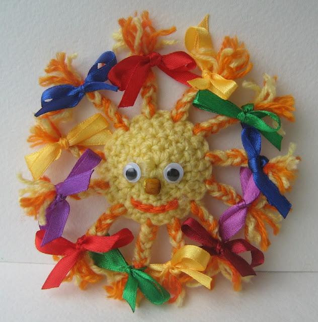 Солнышко сувенир своими руками 72
