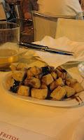 Berenjenas fritas con miel de caña. Pick & Stay. Bodegas Campos. COVAP Shop.