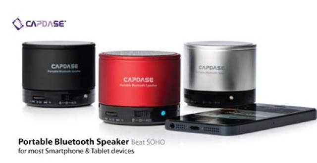 Capdase Beat SOHO Portable Bluetooth Speaker Review