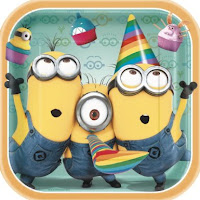 despicable me birthday party plates