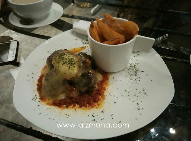 AB Cafe Smoket meatball bolognese, gambar makanan, gambar meatball, AB Cafe,