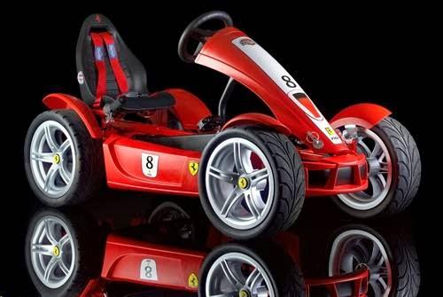 BERG Ferrari FXX Exclusive Pedal Go-Kart